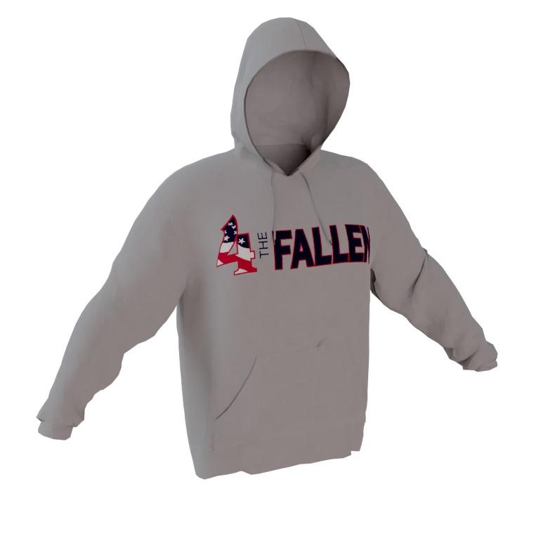 4 The Fallen - Gray Performance Hoodie
