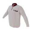 4 The Fallen - White Long Sleeve Quarter Zip Pullover