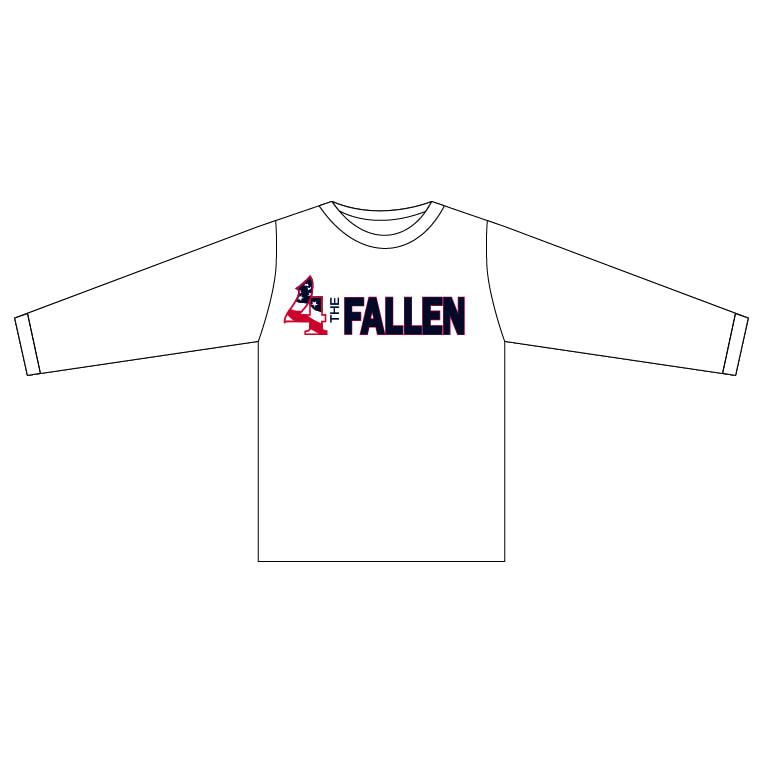 4 The Fallen - White Long Sleeve Shirt