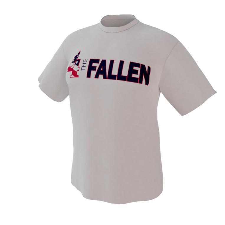 4 The Fallen - White Short Sleeve Shirt
