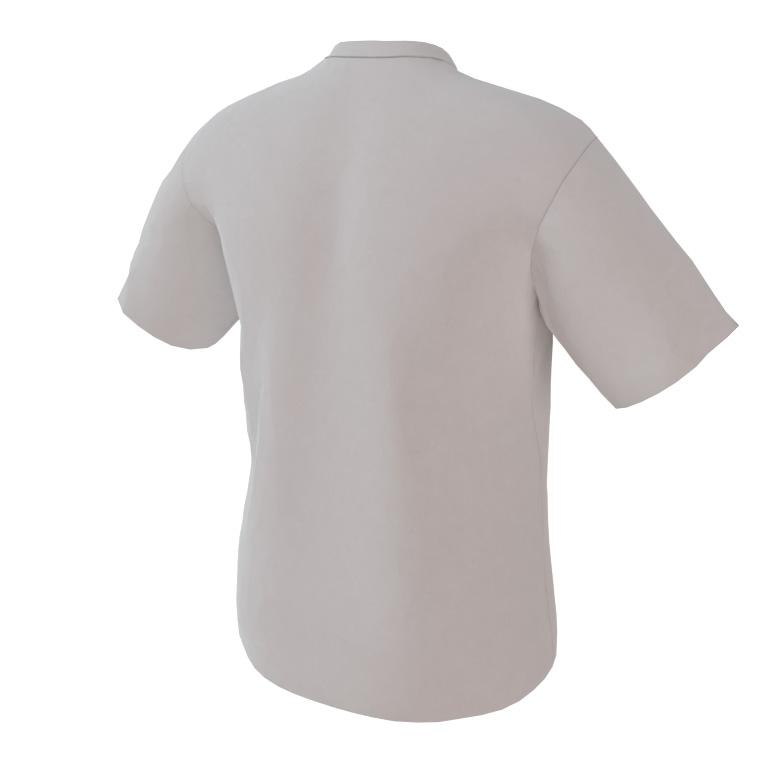 4 The Fallen - White Short Sleeve Shirt - back