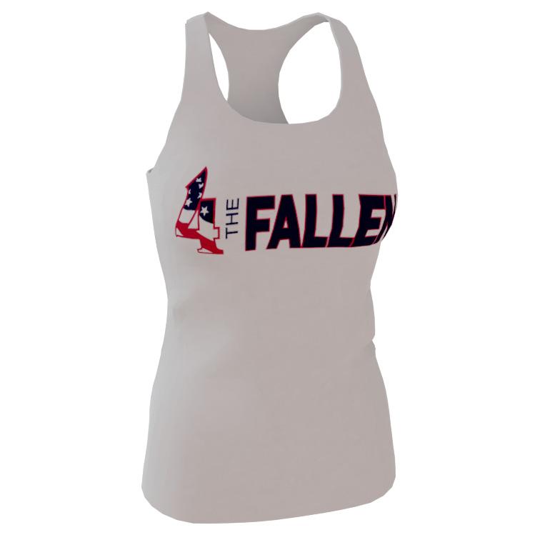 4 The Fallen - Women's Racerback Tank-Top