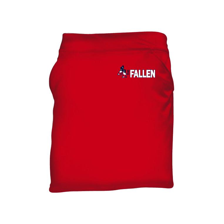 4 The Fallen - Women's Red Skorts