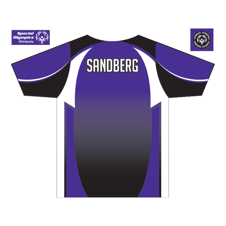 Anoka County Cougars - Custom Game Shirt - back