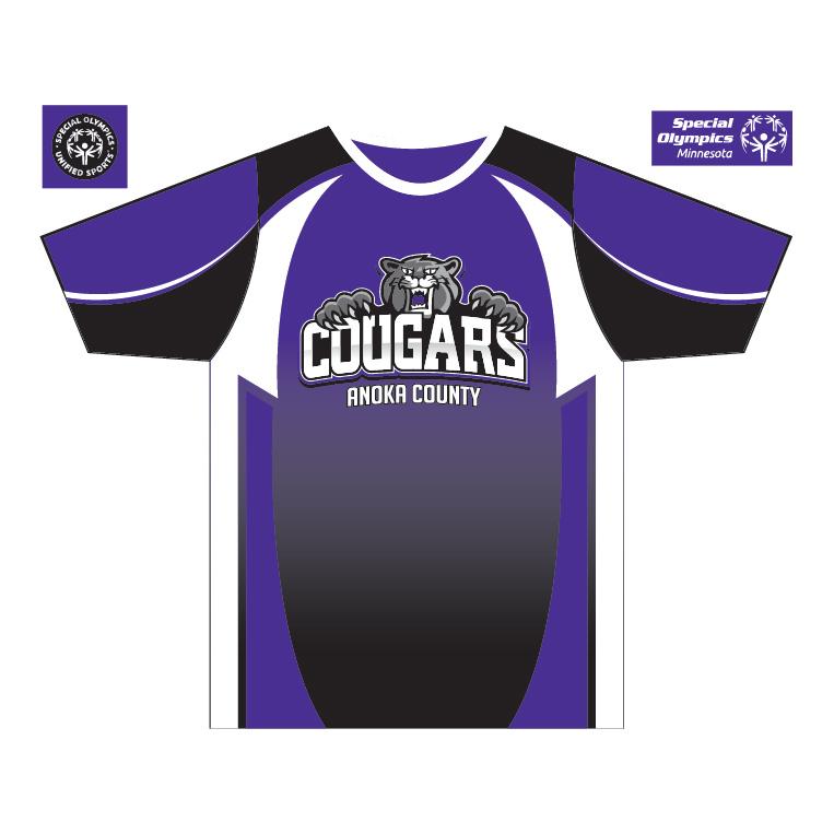 Anoka County Cougars - Custom Game Shirt