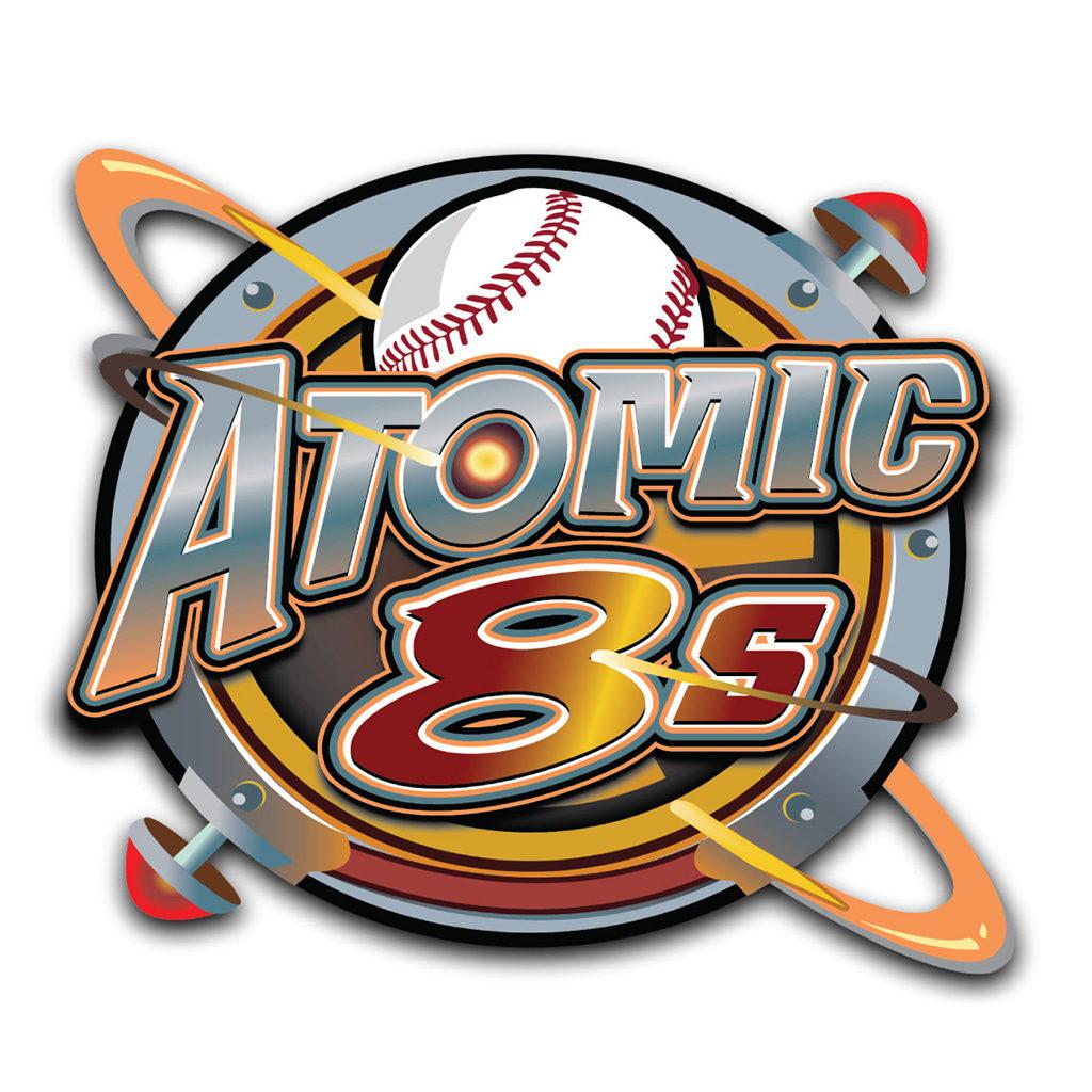 Atomic 8's - Logo
