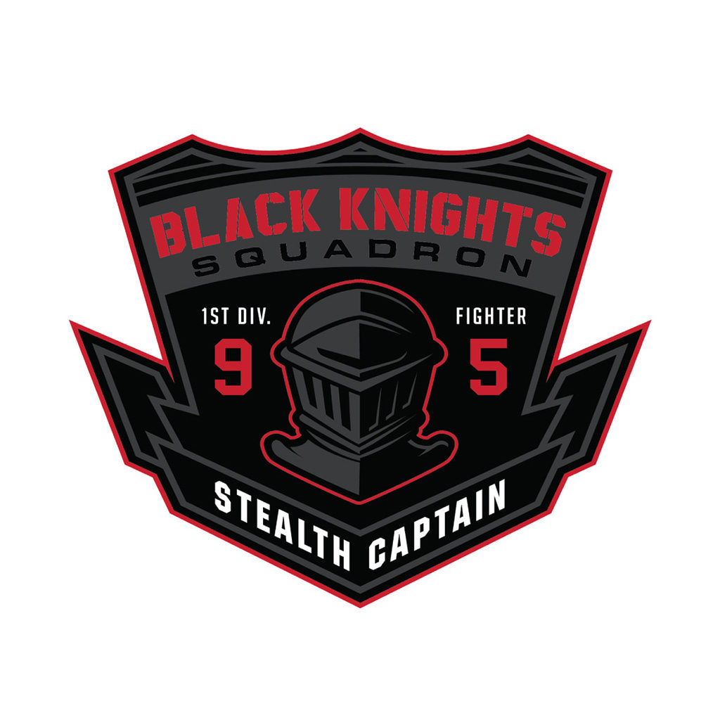 Black Knights Squadron Logo