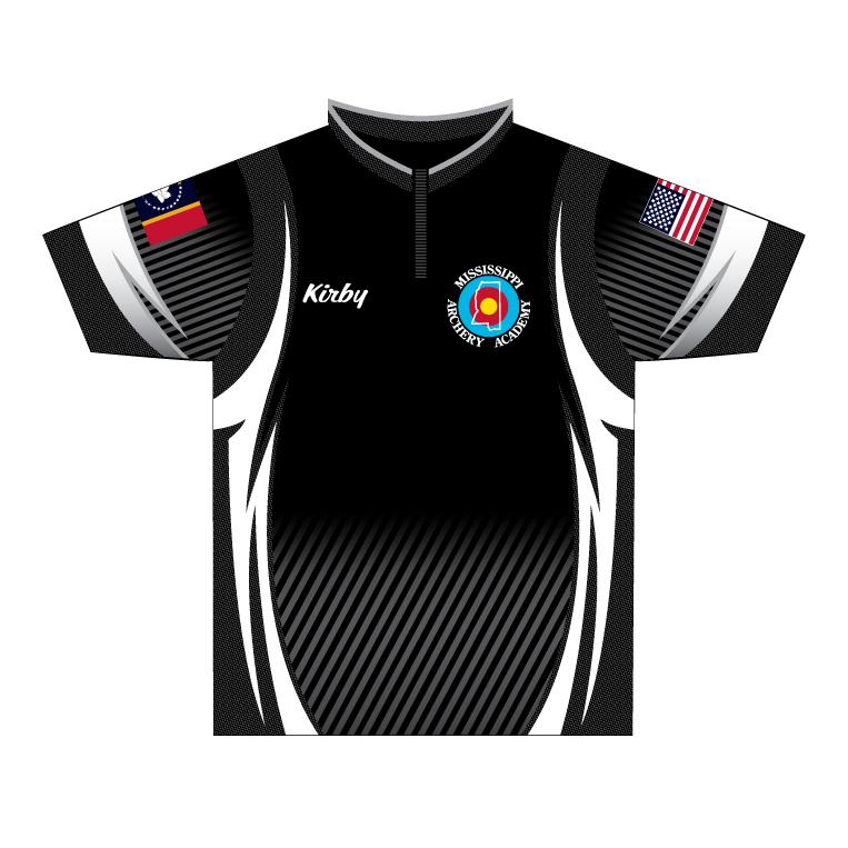 Mississippi Archery Academy - Quarter Zip Shirt