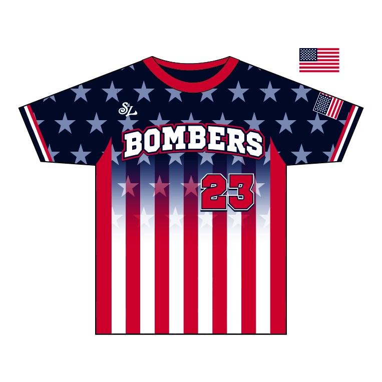 Bombers of the Ozarks – Custom Crew Neck Jersey