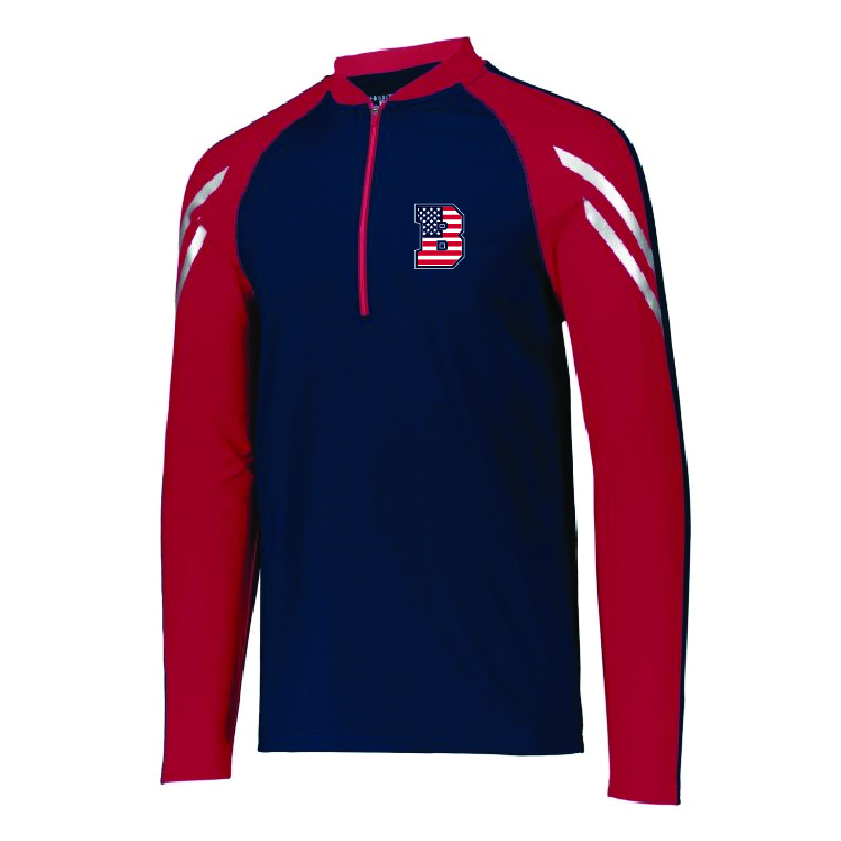 Bombers of the Ozarks - Quarter Zip Pullover