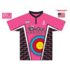BowDoc Archery - Custom Pink Archery Shirt