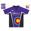 BowDoc Archery - Custom Purple Archery Shirt