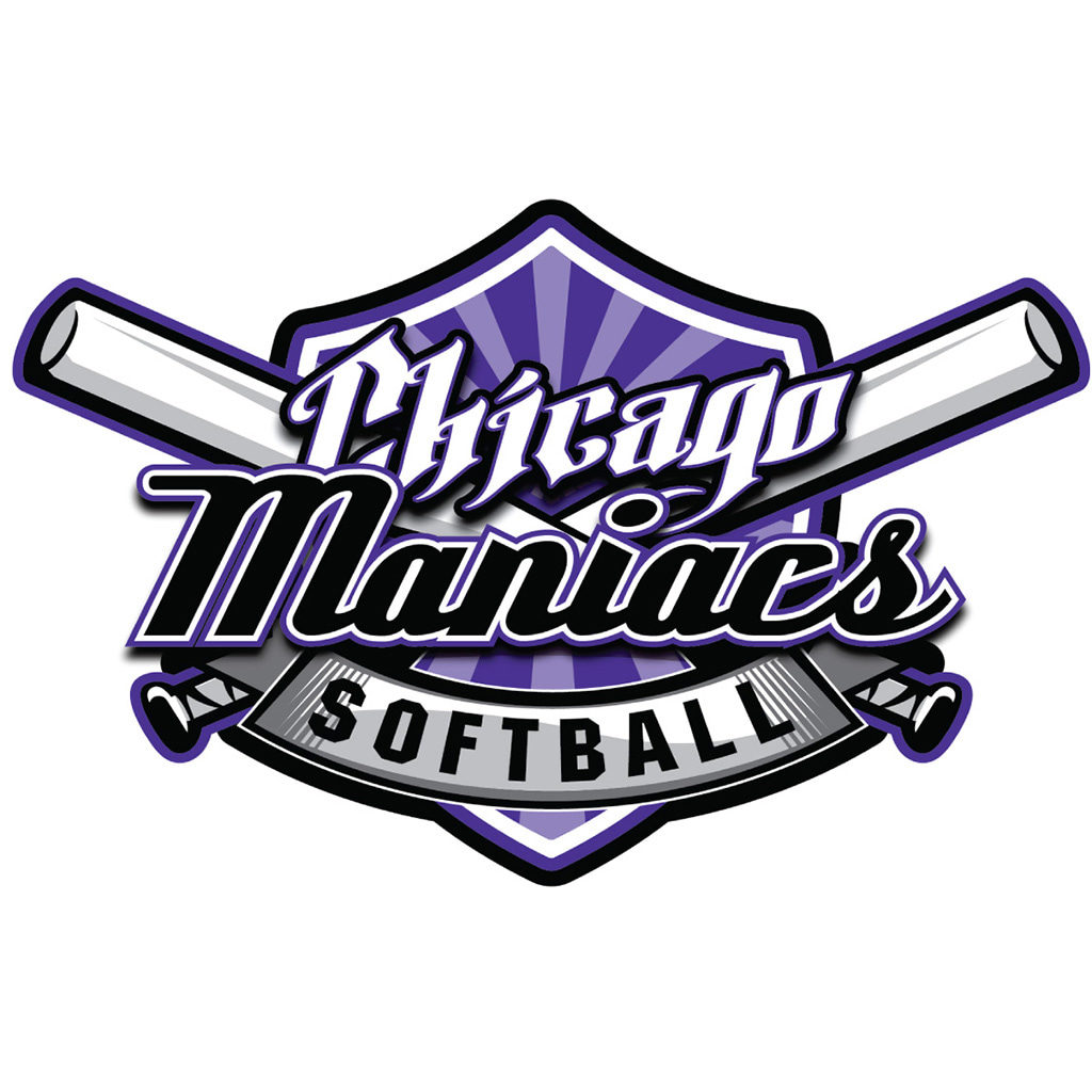 Chicago Maniacs Softball Logo