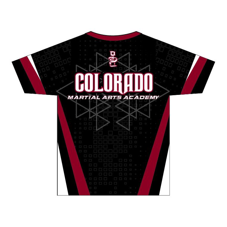 Colorado Martial Arts Academy - Little Axe Kickers Shirt - back