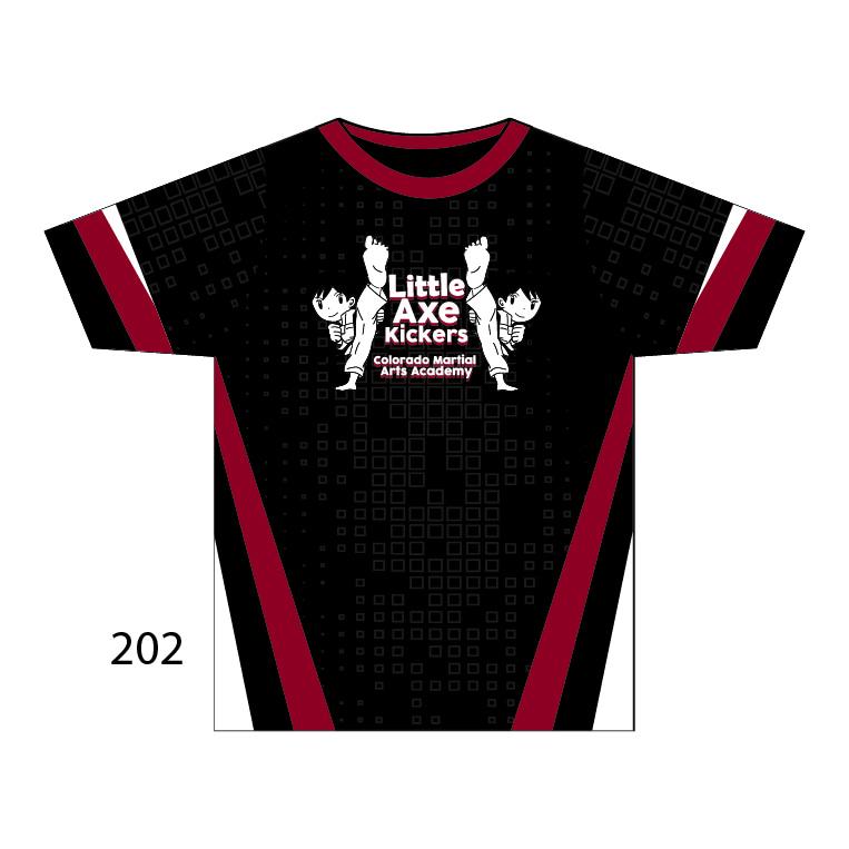 Colorado Martial Arts Academy - Little Axe Kickers Shirt