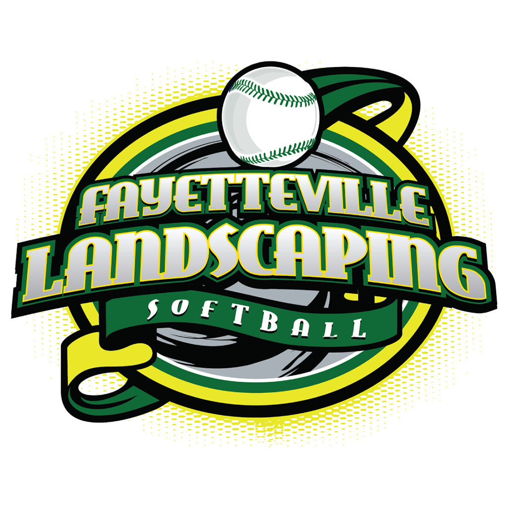 Fayetteville Landscaping Softball Logo