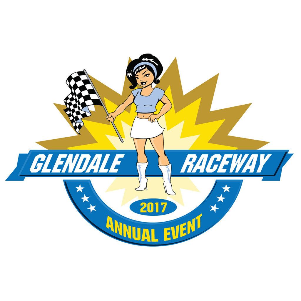 Glendale Raceway Logo