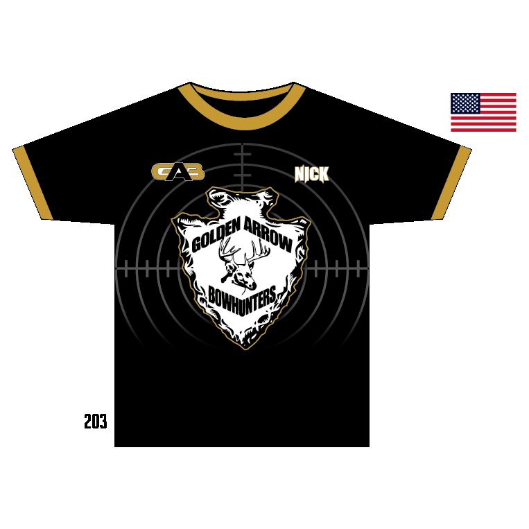 Golden Arrows Bow Hunters Team Shirt