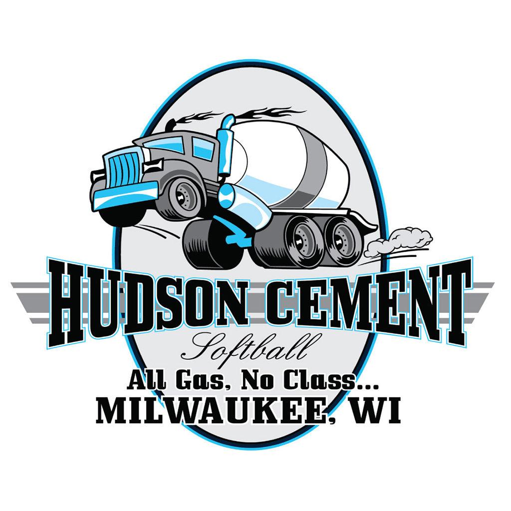 Hudson Cement Softball Logo