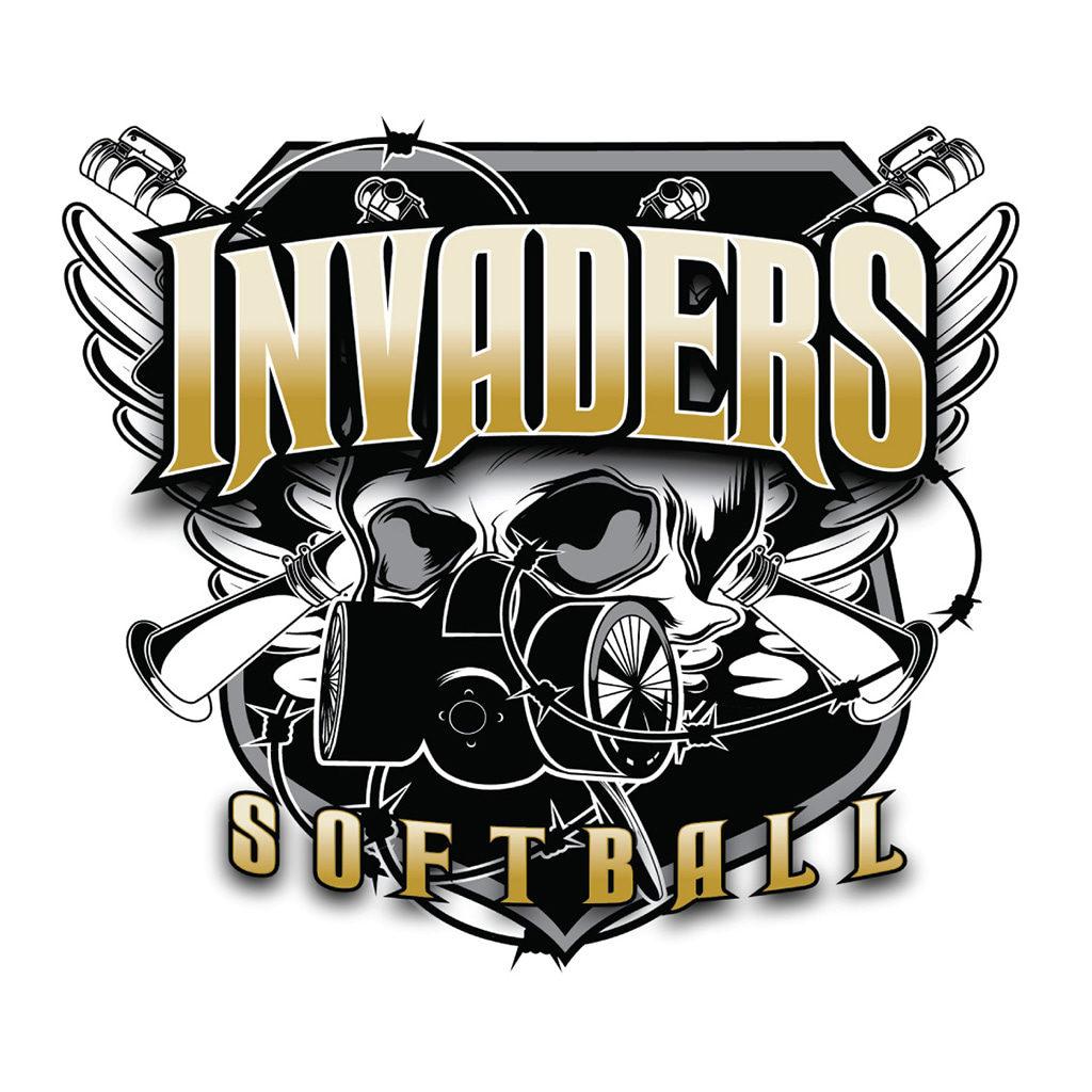 Invaders Softball Logo