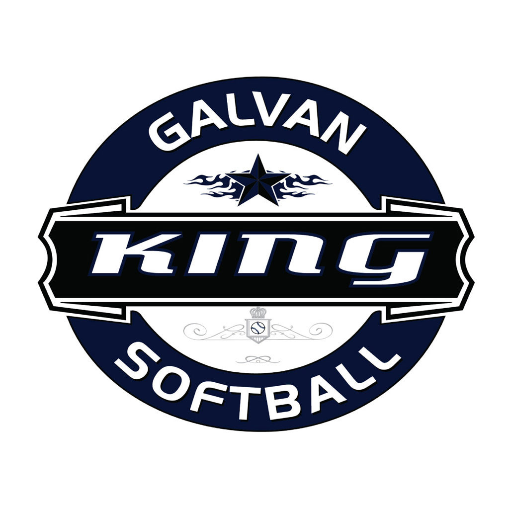 King Galvin Softball Logo