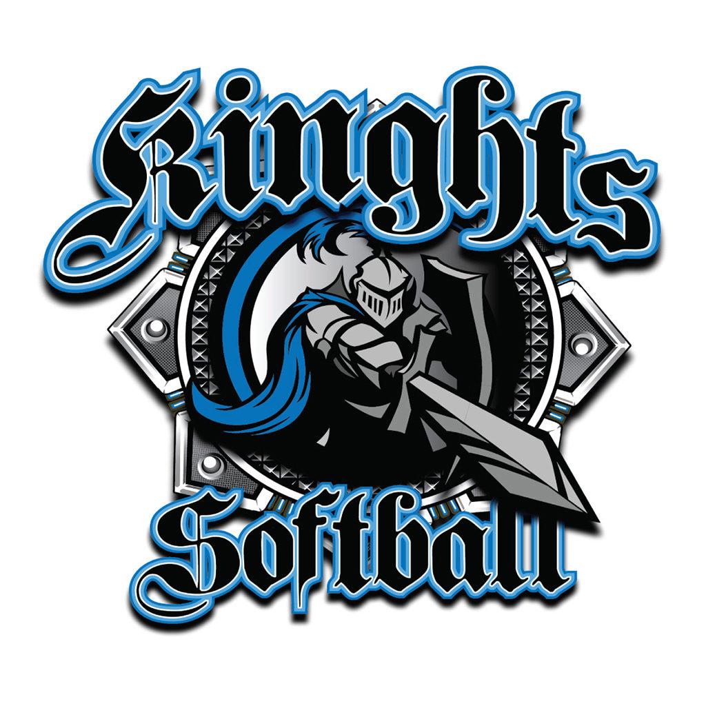 Knights Softball Logo
