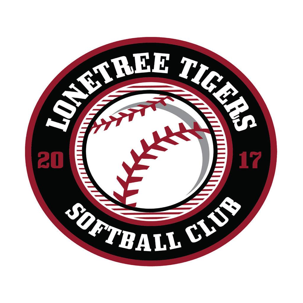Lonetree Tigers Softball Club Logo