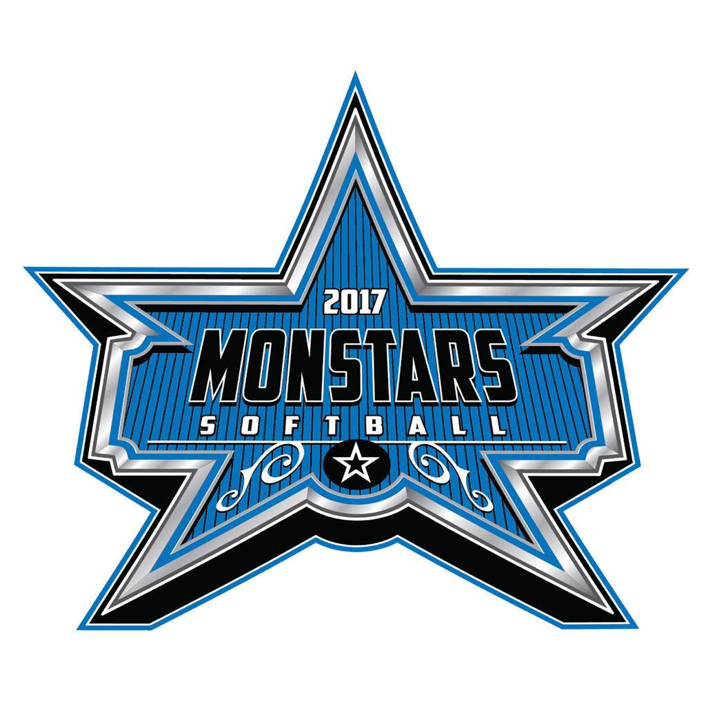 Monstars Softball Logo