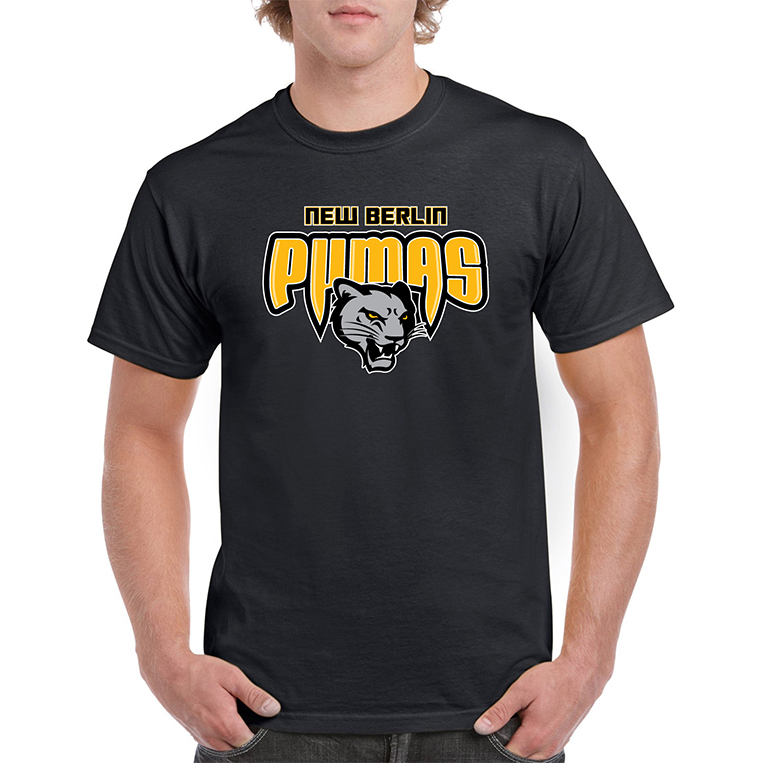 New Berlin Pumas - Short Sleeve Screen Printed T-Shirt