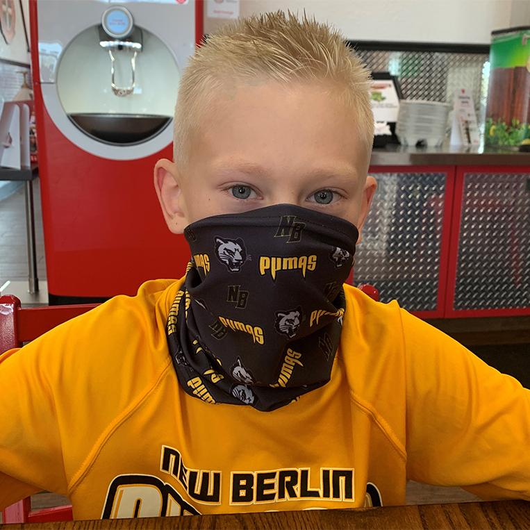 New Berlin Pumas - Cloth Neck Gaiter