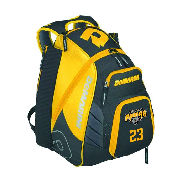 New Berlin Pumas - Custom DeMarini Backpack