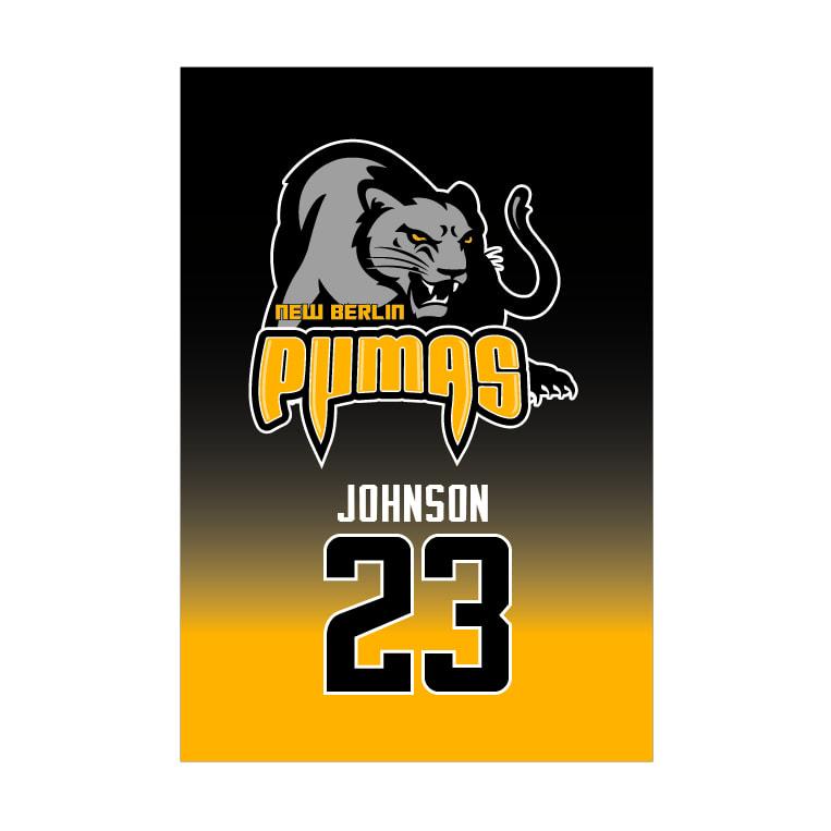 New Berlin Pumas - Custom Team Towel
