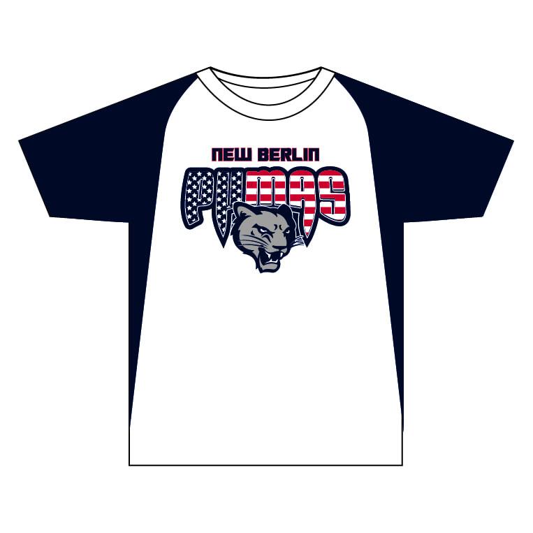 New Berlin Pumas - Custom USA Crew Neck Jersey
