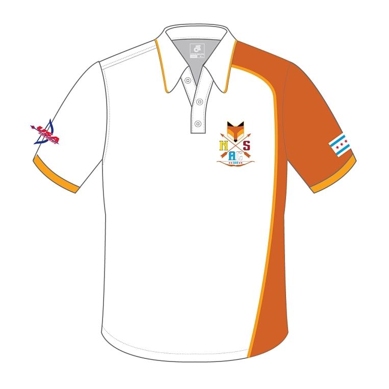 North Side Archery Club - White Polo