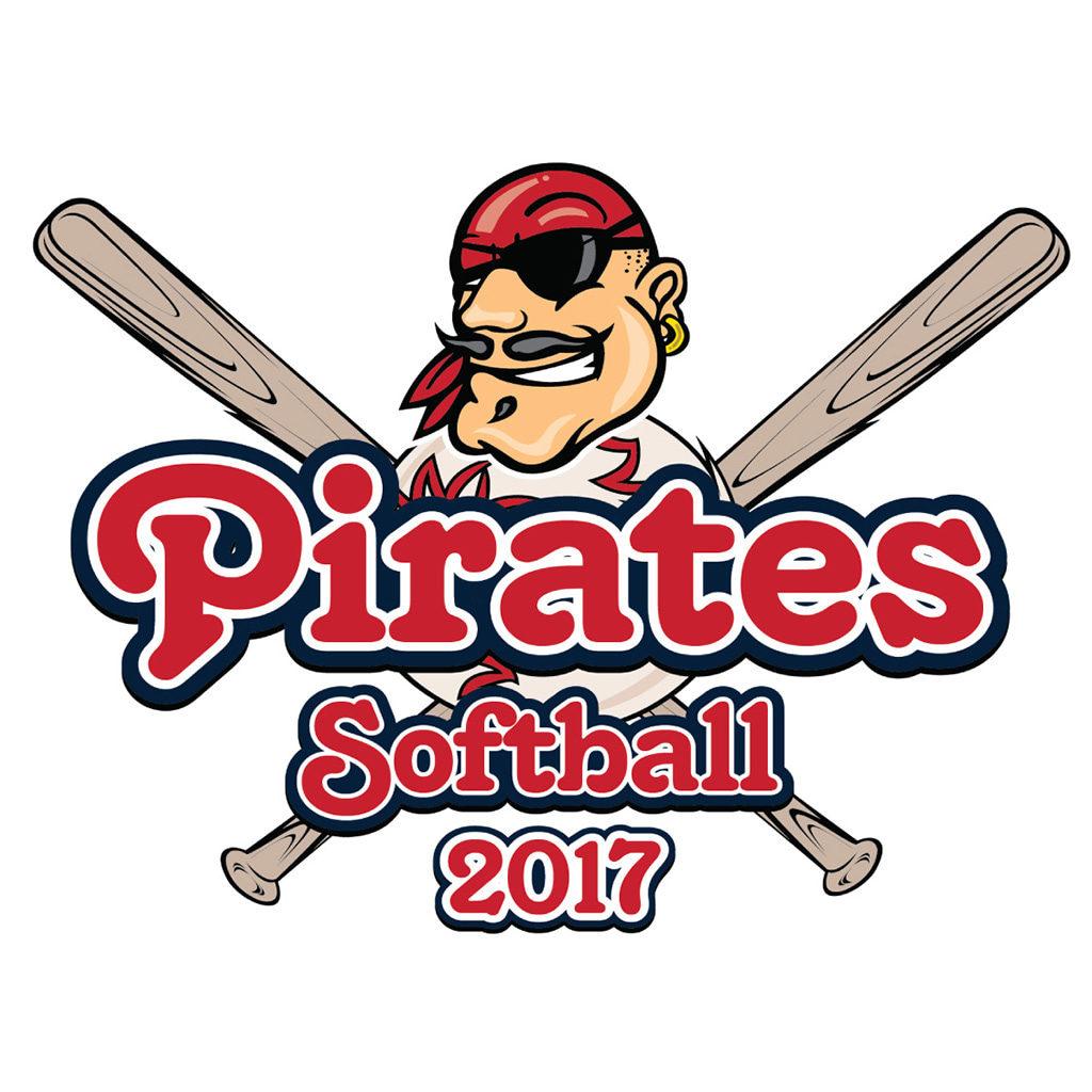 Pirates Softball Logo