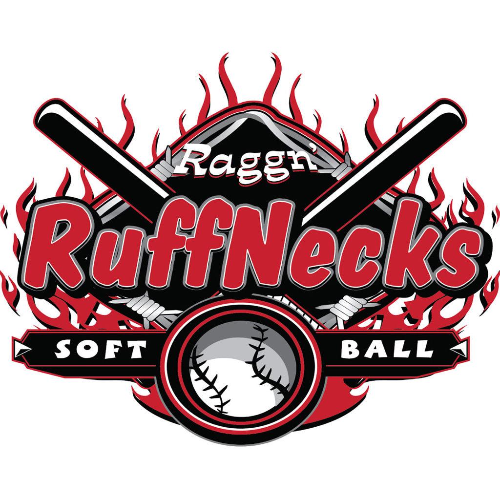 Raggn Ruffnecks Softball Logo