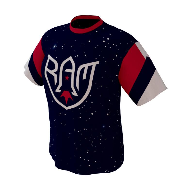 Rocket Arm Mike – Custom Deep Space Game Shirt