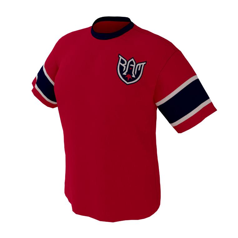 Rocket Arm Mike – Red Game Shirt
