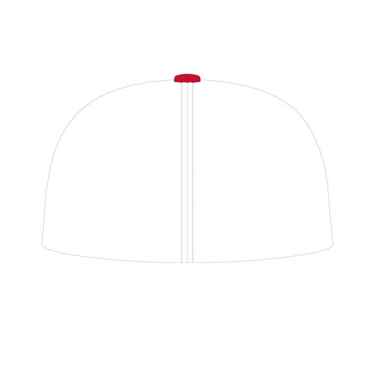Rocket Arm Mike - Pacific 404M Baseball Cap - back