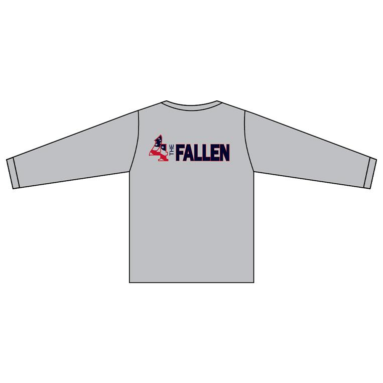 Rocket Arm Mike - Long Sleeve Tech T-Shirt -back
