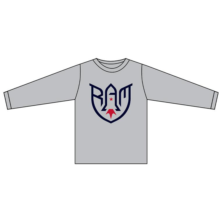 Rocket Arm Mike - Long Sleeve Tech T-Shirt