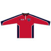 Rocket Arm Mike - Quarter Zip Red Pullover