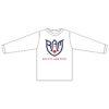 Rocket Arm Mike - White Long Sleeve Performance Shirt