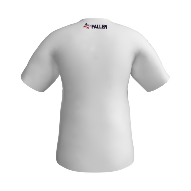 Rocket Arm Mike - White Short Sleeve Performance T-Shirt-back