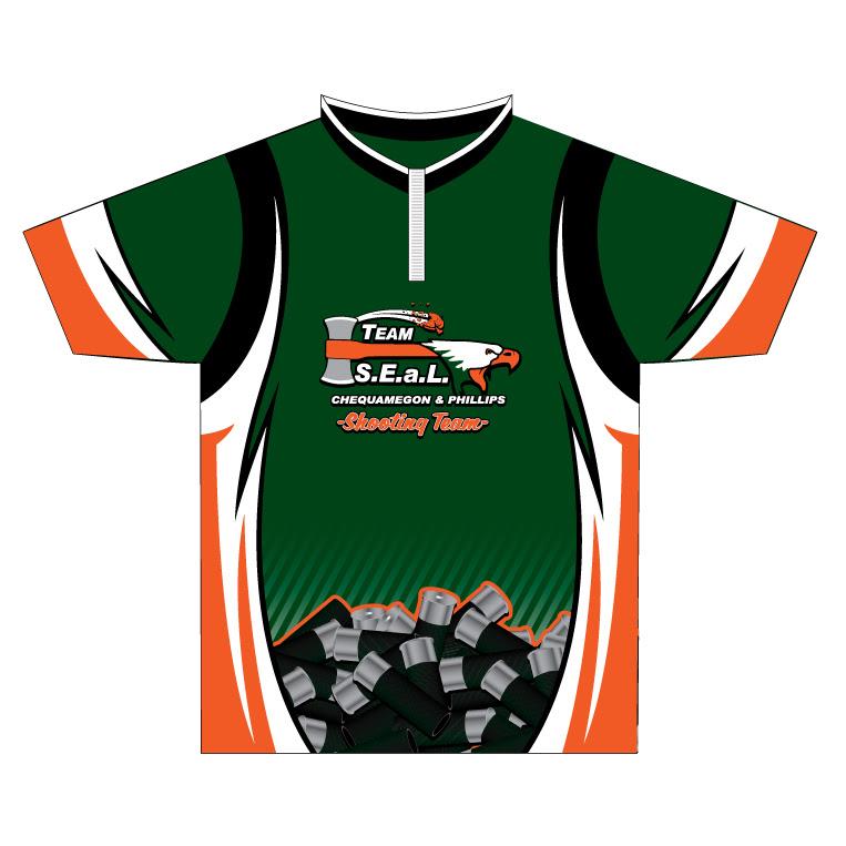 Team SEal - Custom Quarter Zip Team Shirt