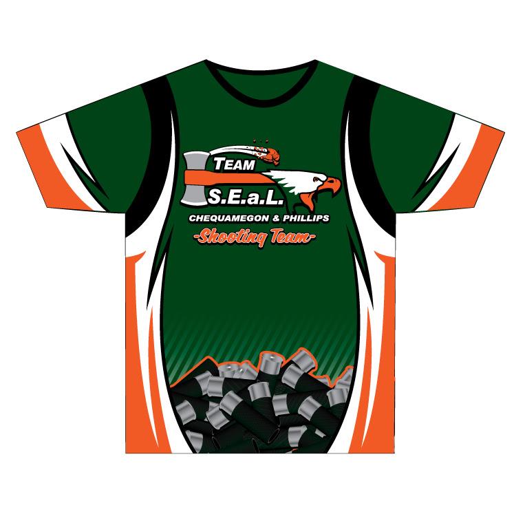 Team Seal - Custom Crew Neck Team Shirt