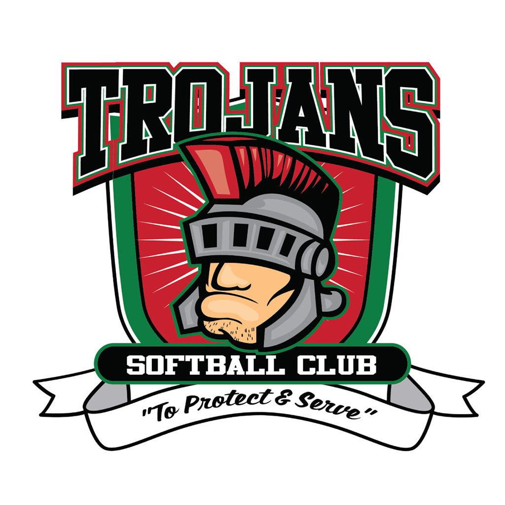 Trojans Softball Club Logo