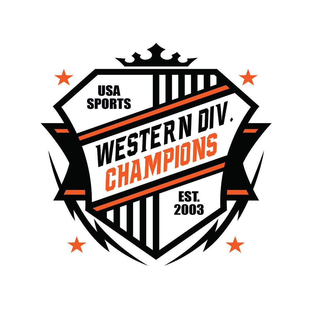 Western Division Champs Logo