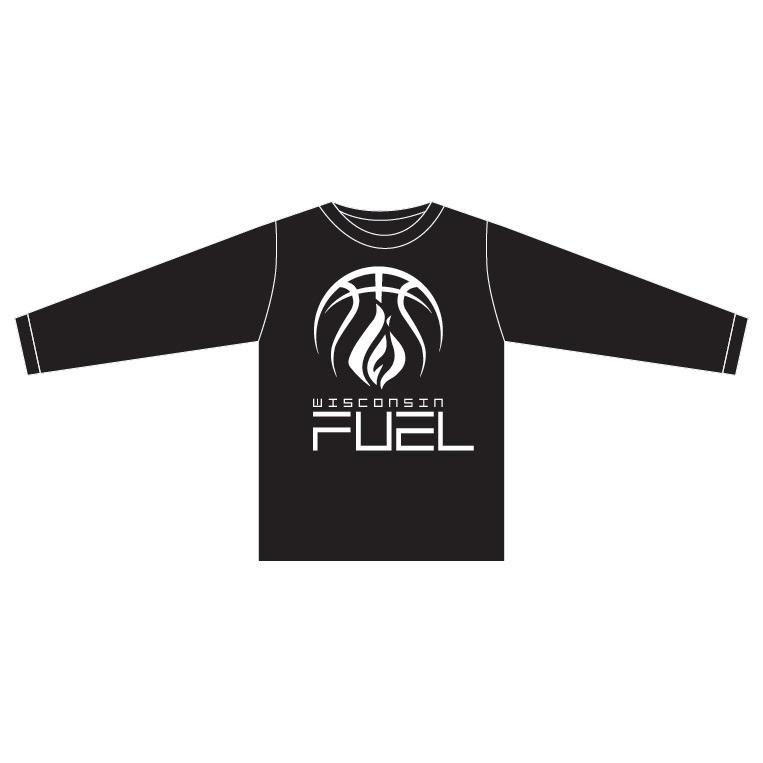 Wisconsin Fuel - Black Long Sleeve Shirt