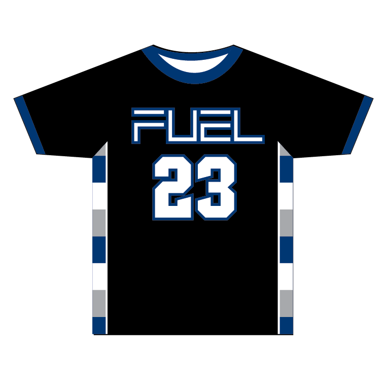 Wisconsin Fuel - Custom Black Game Shirt